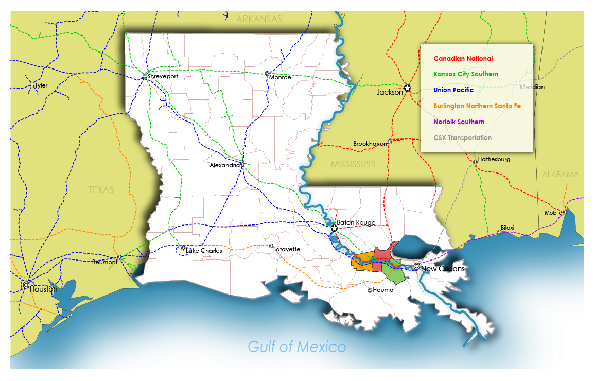 Transportation | Port of South Louisiana